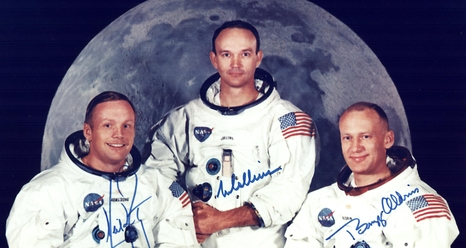 Apollo 11 Crew Portrait. Credits: NASA