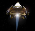 Astrobotic's Griffin Lunar lander.  Credits: Astrobotic