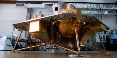 Astrobotic's Griffin Lunar lander hardware.  Credits: Astrobotic