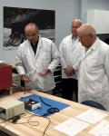 ILOA Director Steve Durst inspects ILO-1 payload development activities at Canadensys. Credits: ILOA.