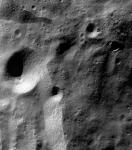 Moon surface imaged by Chandrayaan-1. Credits: ISRO