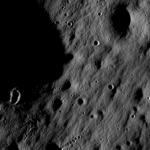 First image of the lunar surface by LRO. Credits: NASA