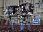 Prototype lunar lander. Credits: NASA